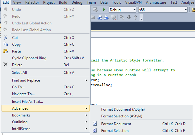AStyle Extension - Visual Studio Marketplace